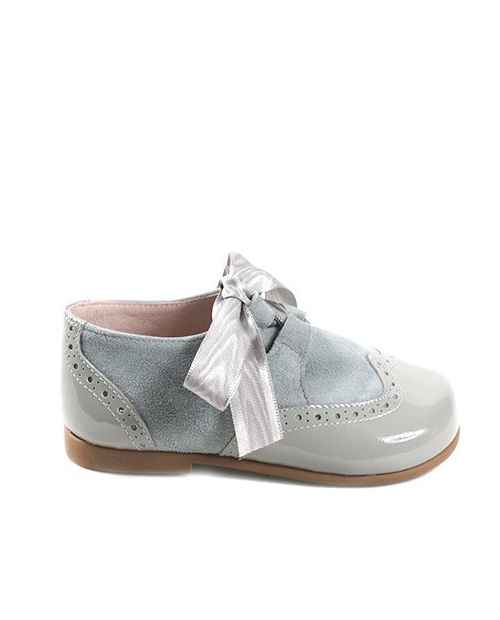 ZAPATO BLUCHER PUPPETS COLOR GRIS