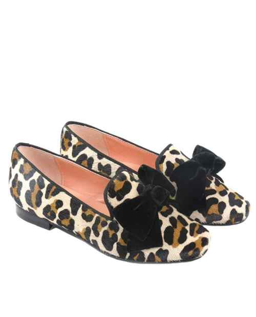 SLIPER NIÑA LEOPARDO RUTH SHOES