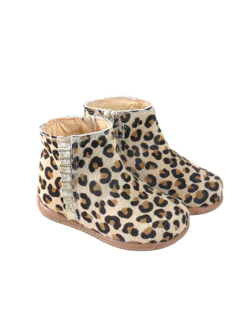 BOTITA NIÑA ANIMAL PRINT RUTH SHOES