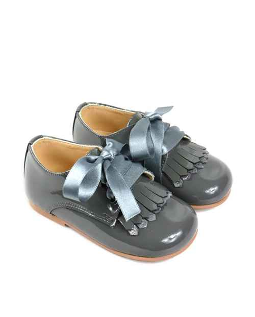 ZAPATITO BLUCHER NIÑOS EN CHAROL RUTH SHOES