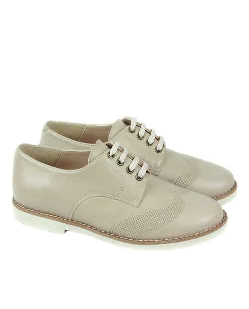 ZAPATO BLUCHER NIÑO CAMEL RUTH SHOES